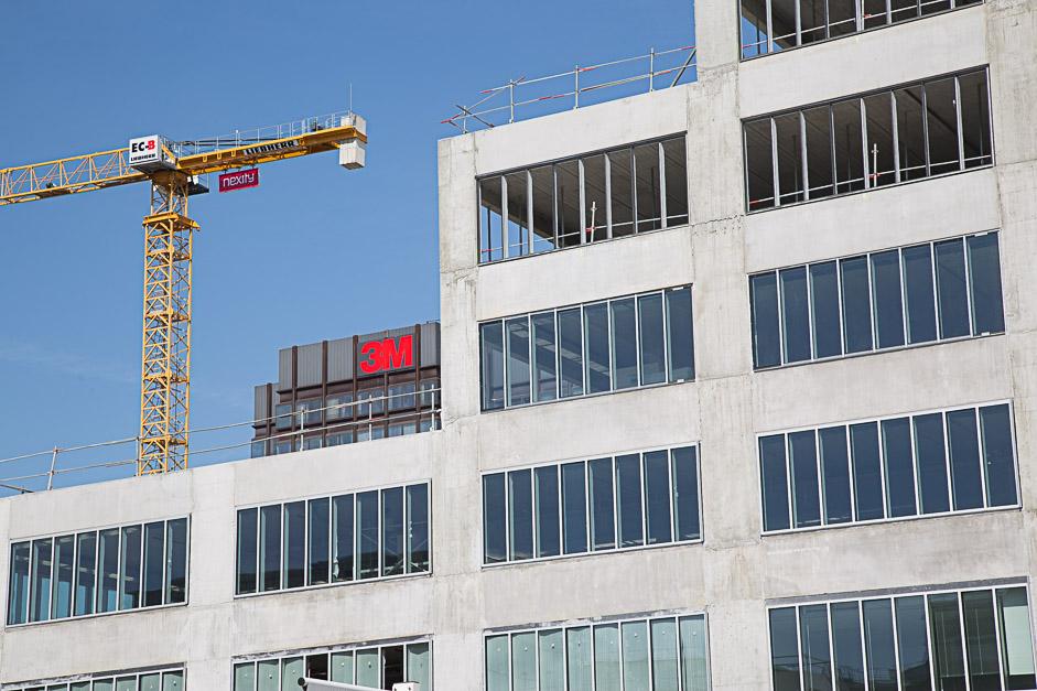 Construction du siège de 3M