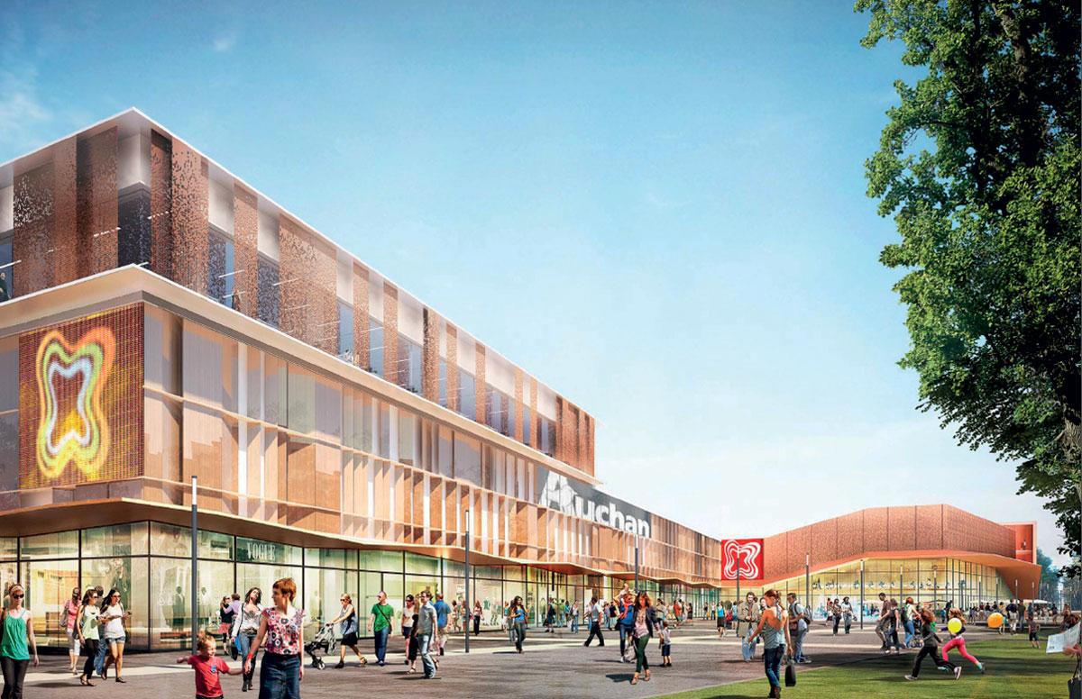 Centre commercial des 3 Fontaines © Hammerson