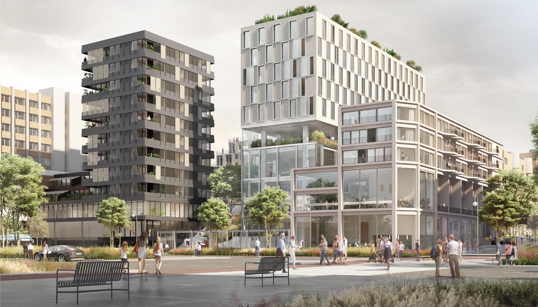 Vue du futur bâtiment @Quadral