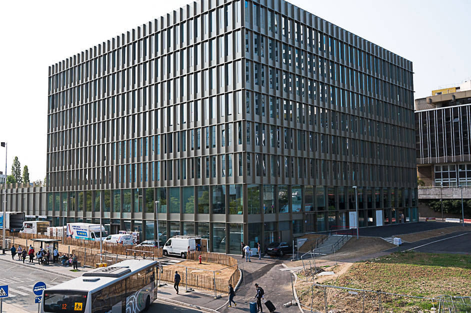Nouveau bâtiment de la CAF