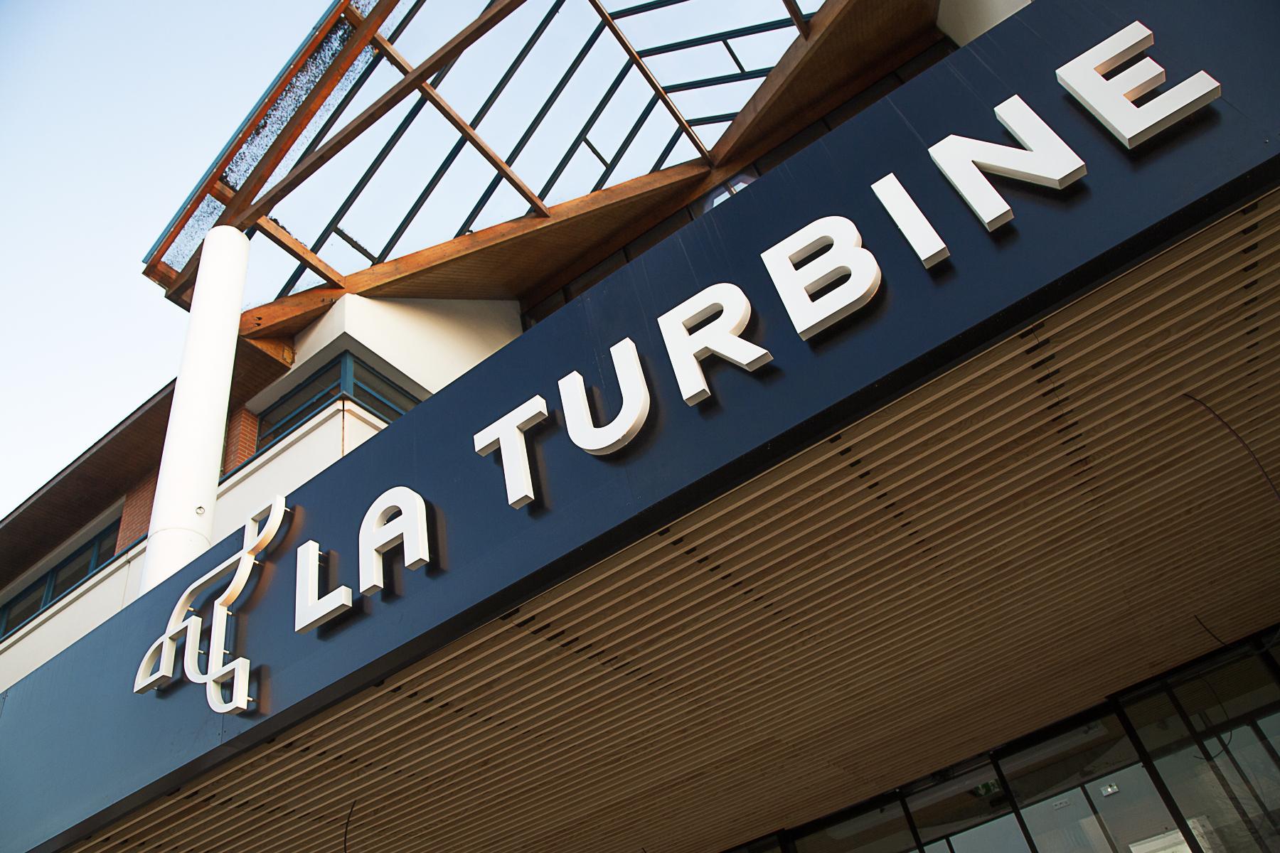 Façade de La Turbine