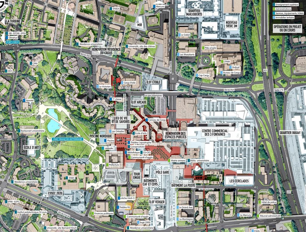 Plan des projets du Grand Centre - Novembre 2018